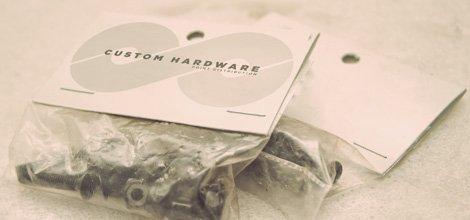 Custom Skateboard Accessories - Hardware