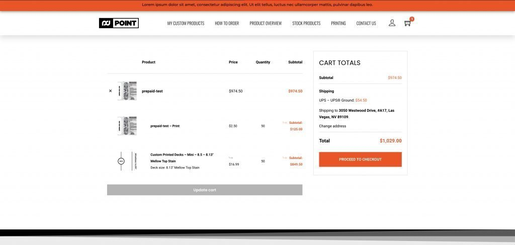 How To Order - Cart
