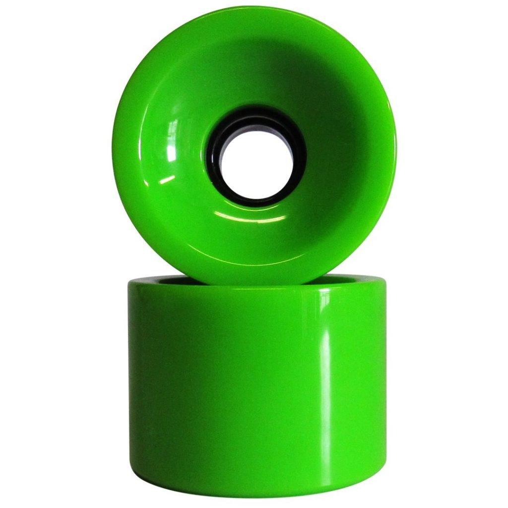 Longboard Wheel Lime 76x53