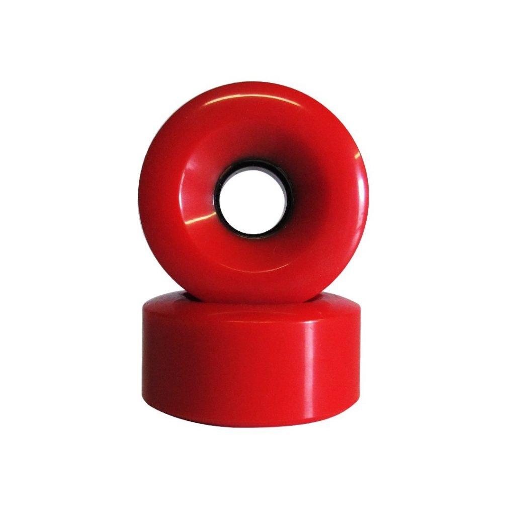 Point Longboard Wheels Red 65x32 80A