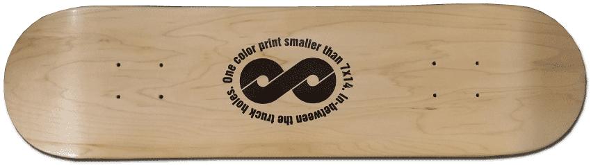 Custom Skateboard Printing Direct Screen Print